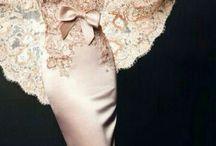 Satin Lace Dress