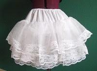 Nähen: Petticoat