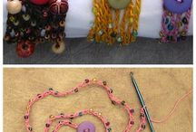Crochet Bracelet Tutorial.