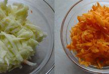 Surówki z warzyw