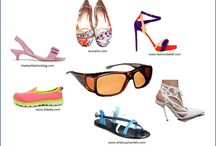 Women & Shoes in Spring / Spring is here - Time to set your feet free. And don't forget your Haven sunglasses when you go outside. UV rays are damaging and have been linked to many eye diseases.