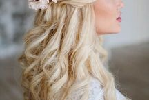 Wedding bridesmaids HAIRSTYLES