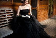 wedding dresses black●●●