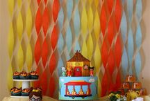 Daniel tiger birthday / 3rd birthday party for one of Daniel Tiger number fan