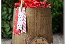 Stampin' Up! ~ Thinlits mini treat bag / Inspiration for Stampin' Up's Thinlits mini treat bags
