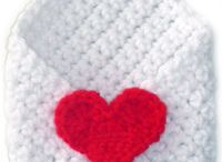 Valentine crochet pattern ideas / by Naomi Handleman