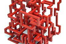 Lego doolhof
