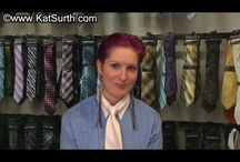 Kat's White Tie Blue Blouse / Photos from Kat's White Tie Blue Blouse video at Photo from Kat's White Tie Blue Blouse video at http://clips4sale.com/28472/16053378
