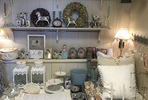 KATRIEN terug in de tijd / Winkel in nieuwe nostalgische huishoudelijk en decoratieve producten . Zoals borstels, doeken, emaille, zink en een groot assortiment van allerlei zepen
