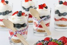 Patriotic / Recipes and crafts for American holidays!