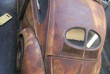 VW Split Oval Beetle