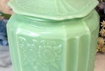THE COLLECTION-JADEITE   / by Sue Lodmill