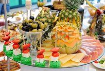 Buffetscape and food