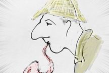Sherlockian / Sherlock Holmes & Doctor Watson / by Duncan Watson