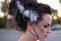 Frankensteins Bride Costume / Stay in touch on Facebook! https://www.facebook.com/maskerix/