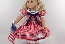 porcelain doll dress making for pippa