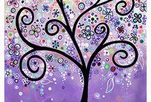 Alberi / Ispirazioni su alberi di tutti i tipi...