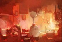CB - Ambiances / Ambiances : illustration/photos d'ambiance (theme, lightning, mise en scène)