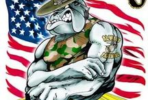 Marines...here's to Leathernecks, Devil Dogs and Jarheads / by Loretta Bankston