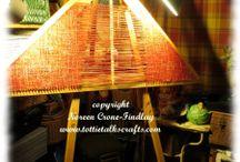 Triangle loom weaving