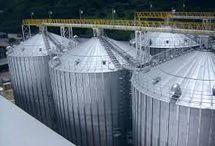 manufacturer of Grain storage silo, Plastic Granules Storage Silo in India