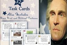 Task Cards for US and Texas History / Task cards are a great way to review content and prepare for a test.