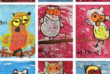 Second Grade Art