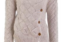 Entralac knitting