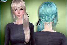My The sims 4 CC Hair (Female)