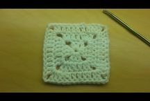 Crochet stitches + tutorials