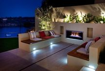Beach House Patios/outdoor areas / Patios from houses that are on or near the beach.