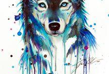 Wolf tattoo / Tattoo