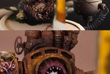 Warhammer 40k / Warhammer 40k miniature inspiration