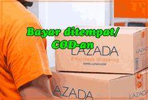 Cara Belanja di Lazada Bayar Ditempat / Rumah & Area COD Terbaru