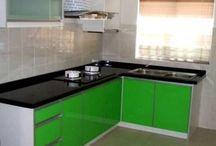 desain lemari dapur minimalis