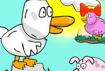 Duck Dry Foot / A fun and cute indie duck game with a lot of humor. Available on most mobile platforms.