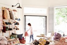 Shopping Locally / Boutiques around the world focusing on local makers and sustainable and ethical design.
