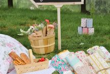 Mia's first Botanical Picnic Party