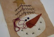 AAA:SNOW-THEMED ornies&crafts / Pulled from my ornaments board. / by Dianne Mauth Daines