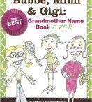 Grandparent Names / Gigi, Memaw, Grammy, Nana, Grandparent's all have their own special name!