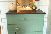 Painted Furniture / Furniture Painted with Various Kinds of Paint including Chalk Paint and Milk Paint