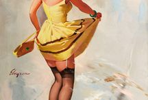 Retro.. Pin Up..