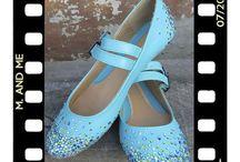 обувь со стразами
