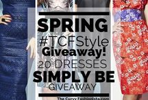 TCFSTYLE Giveaways / by The Curvy Fashionista