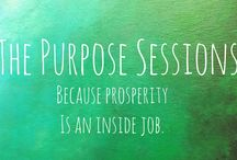 THE PURPOSE SESSIONS / A series of interactive professional and personal development workshops designed to reduce stress, increase joy, and bring mindful, wholehearted practices into your personal and professional life, curated and facilitated by Prosper With Purpose Director Paula Kampf.  Each session is offered at the Prosper for Purpose offices.