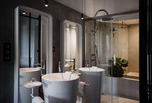 Villa Guy / Pour rénover la Villa Guy et ses chambres d'hôtes haut de gamme à Béziers, l'architecte Michelle Espinosa a choisi les teintes sobres et minérales des bétons cirés Marius Aurenti.