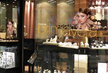 vitrine e ponto de venda