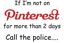 Funny Pinterest Pins / by Linda Weaver