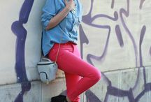 How to Wear What's in My Closet / by LaParisienneVintageChicFurniture Chams Habib