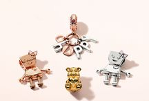 PANDORA Friends / Fall in love with our collectible #PANDORAFriends charms
